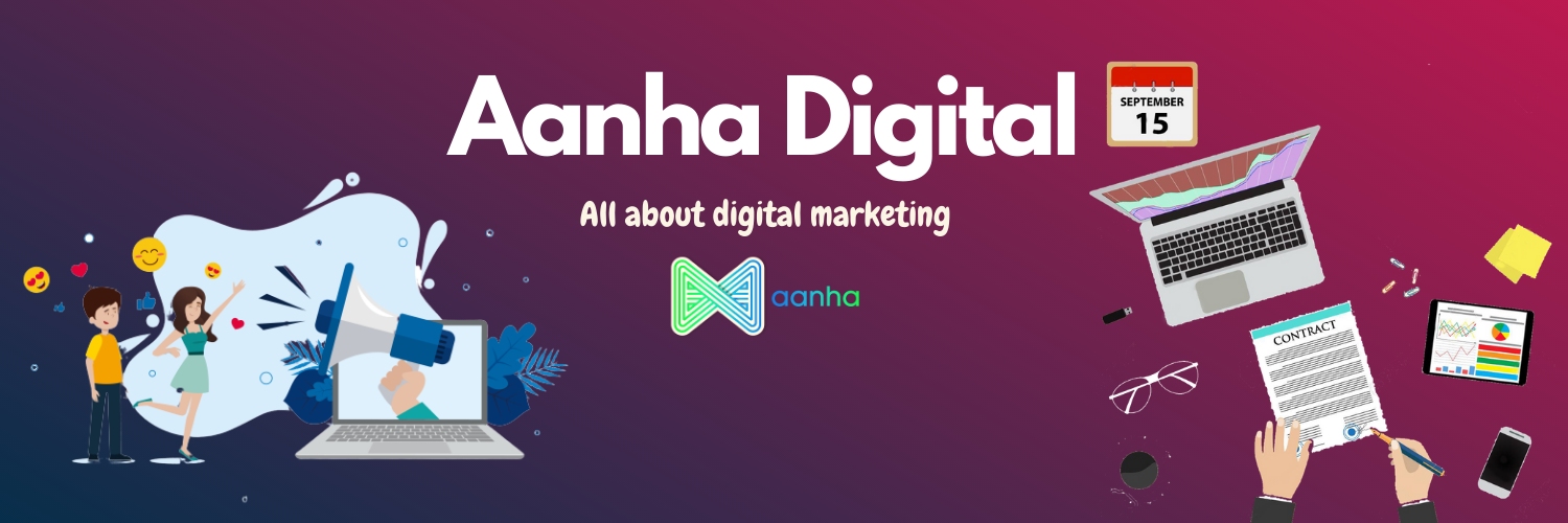 Aanha Digital User Profile Banner